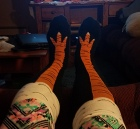 Love my chicken socks